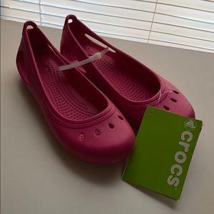 Junior crocs size1